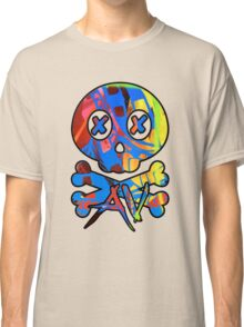 80s AbnormalVision logo skull Classic T-Shirt