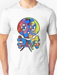 80s AbnormalVision logo skull T-Shirt