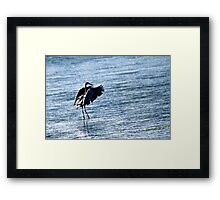 Water Dance.... Framed Print