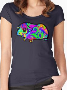 Guinea Pig Women's Fitted Scoop T-Shirt