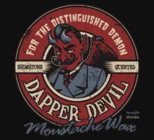 Dapper Devil Moustache Wax by HeartattackJack