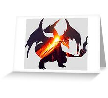 Mega-evolution Poke #006 Y Greeting Card