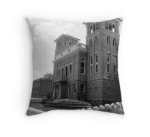 Wise Courthouse Throw Pillow