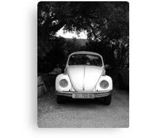 Abandoned VW Bug in Croatia Canvas Print