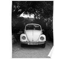 Abandoned VW Bug in Croatia Poster