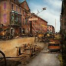 Steampunk - Archibald McLeish's Vulcan Iron Works 1865 by Mike  Savad