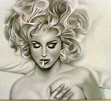 in bed with Madonna by Mark Lee McMeekin