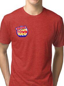 Burger Town Tri-blend T-Shirt