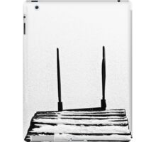 footbridge in frozen lake #5 iPad Case/Skin