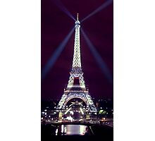 Tour Eiffel at night! Photographic Print