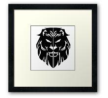 House Lannister Sigil Framed Print