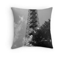 Big Walker Lookout Tower Throw Pillow
