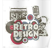 The retro design Poster