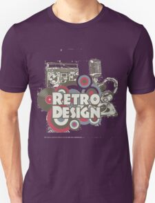 The retro design T-Shirt