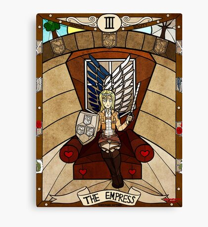 III The Empress - Christa Renz Canvas Print