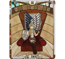 III The Empress - Christa Renz iPad Case/Skin