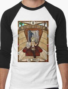 III The Empress - Christa Renz Men's Baseball ¾ T-Shirt