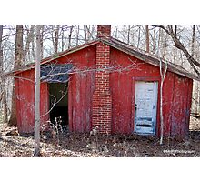Old Red Shack Photographic Print