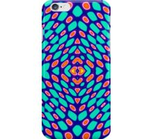 Abstract peacock pattern 2 iPhone Case/Skin