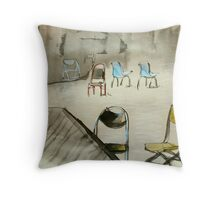 the gathering II Throw Pillow