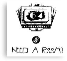 American Horror Story - Hotel room 64 Canvas Print