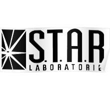 Heisenberg - Star Lab. Poster