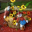 Fall Scarecrows by Mechelep