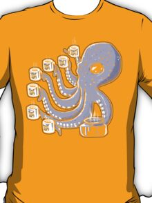 Over-caffienated Octopus T-Shirt