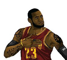 Lebron James by memonang