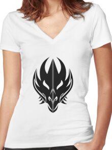 House Targaryen Sigil Women's Fitted V-Neck T-Shirt