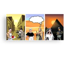 Surreal Triptych 2 Canvas Print