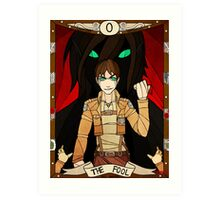 0 The Fool - Eren Jaeger Art Print