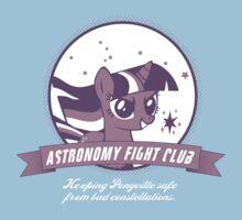 Twilight Sparkle's Astronomy Fight Club One Piece - Short Sleeve