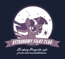 Twilight Sparkle's Astronomy Fight Club Kids Tee