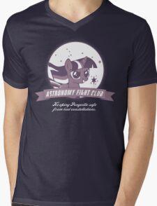 Twilight Sparkle's Astronomy Fight Club Mens V-Neck T-Shirt
