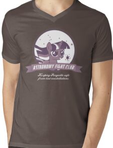 Twilight Sparkle's Astronomy Fight Club Mens V-Neck T-Shirt