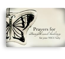 Prayers for a NICU Baby Metal Print
