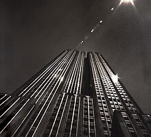 Empire State Building High Noon by Rick Gold