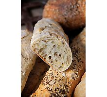 Sunflower & Pumpkin Seed Bread Photographic Print