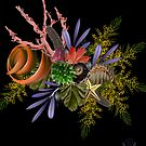 "Seaside Bouquet -  Translating ""Otherworld Botany"" by Diane Johnson-Mosley by Rookwood Studio ©"