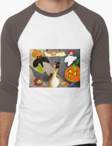 Honkers  Halloween Men's Baseball ¾ T-Shirt