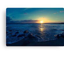 Edisto Sunset Canvas Print