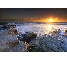 """The Golden Hour"" ∞ Caloundra, QLD - Australia Photographic Print"