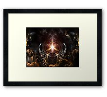 Eyes Of Ancient Power Framed Print
