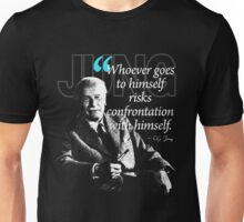 A Quote from Carl Gustav Jung Quote #50 of 50 available Unisex T-Shirt