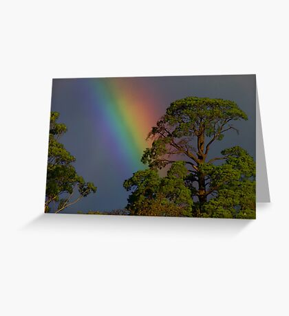I can sing a rainbow Greeting Card