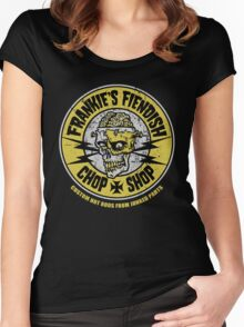 Frankie's Fiendish Chop Shop Women's Fitted Scoop T-Shirt
