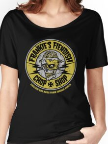 Frankie's Fiendish Chop Shop Women's Relaxed Fit T-Shirt