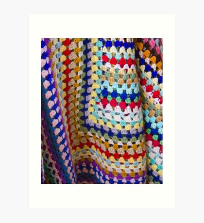 Wool Knit Art Print