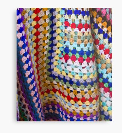 Wool Knit Metal Print